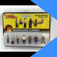Woodland Scenics Figures TRACK WORKERS HO Scale A1865