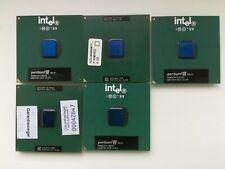 Intel Pentium III 650 667 700 1000 / 256 rare Specs uncommon Vintage CPU skt 370