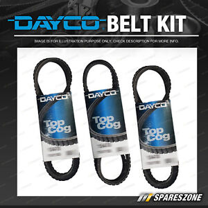Dayco Alt & P/S & A/C Drive Belt Kit for Ford Maverick 4.2L DFI Diesel DA TD42