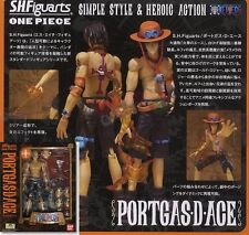 Bandai S.H.Figuarts One Piece Portgas D. Ace Action Figure SHF Free Ship