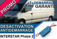 Clé de désactivation d'anti démarrage Nissan INTERSTAR PHASE 2