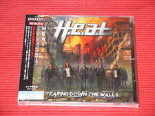 H.E.A.T TEARING DOWN THE WALLS with Bonus Track JAPAN CD