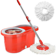 LIVINGbasic Bucket System Detachable Spinning Basket & Easy Wring 360° Magic Mop