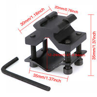 Tactical 20mm Rail Barrel Mount Clamp for Rifle Gun Scope Adapter Universial