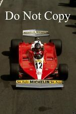 Gilles Villeneuve Ferrari 312 T3 Swedish Grand Prix 1978 Photograph 1