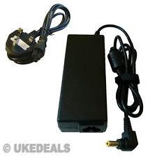 Fujitsu Amilo li1718 Laptop Adaptador De Cargador 20v 4.5 a + plomo cable de alimentación