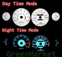 95-99 Eclipse NA AT WHITE FACE BLUE INDIGLO GLOW GAUGES