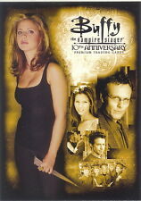 BUFFY THE VAMPIRE SLAYER 10TH ANNIVERSARY 2007 INKWORKS PROMO CARD P-K ANGEL