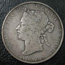 Canada 1871 50 Cents ~ VG/F ~ Nice Original Coin ~ No Problems