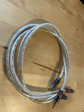 QED QUENEX 3 30th Anniversary Edition Silver Dual Balanced RCA Cable 1.0M Pair