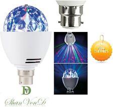Autism Sensory Lights LED Rotating Light Bulb Lamp B22 Bayonet Kids Room Gift UK