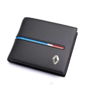 Renault Sport Leather wallet Driving Licence Holder Wallet Black