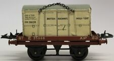 VINTAGE HORNBY MECCANO 0-GAUGE INSULATED MEAT FREIGHT CAR