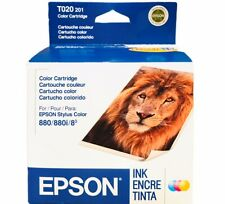 Factory Sealed EPSON T020 201 Color Ink Cartridge For Stylus 880 880i Expired