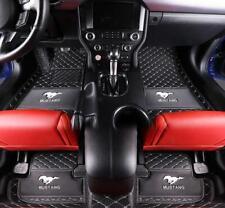 Fit for Ford Mustang 2010-2019 luxury custom waterproof Car floor mats Trunk mat