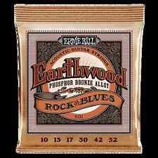 Ernie Ball P02151 Earthwood Phosphor Bronze Rock & Blues Acoustic Guitar Strings