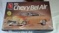 AMT 1951 Chevy Bel Air 1/25 Model Kit #6607 ERTL Sealed 3 in 1 Stock Custom Drag