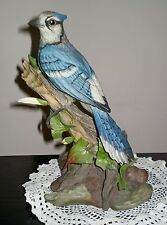 Porcelain BLUE JAY Figurine Edward Marshall Boehm Signed Limited Edition #40218