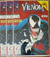 VENOM LETHAL PROTECTOR 1 RED FOIL MARVEL COMICS 1992 NM