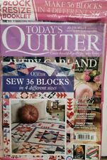 Today's Quilter Issue 52 Avery Garland 36 Blocks 4 Sizes FREE SHIPPING CB