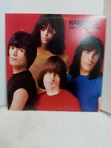 THE RAMONES - End of the Century LP Limited Ed. Red Vinyl 2005 180g Exc. Cond.