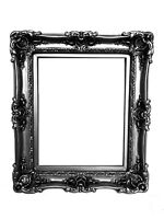 16x20 Vintage Silver Frame for Picture, Canvas, Art, Distressed Old Style
