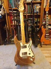 Strat style E Gitarre mit Fender Wide Range Pickups