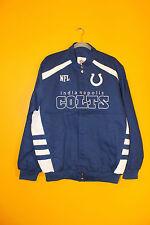 New NFL Indianapolis Colts Narscar style twill cotton jacket men's XXL