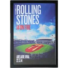 Music The Rolling Stones Adelaide Oval Poster Framed