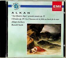 Alkan: Les Quatre Ages (grande sonate) / 4 Etudes etc - RONALD SMITH Piano CD