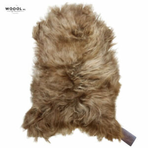 WOOOL Sheepskin Brown ICELANDIC | Large | 100% ECO and Genuine | Soft Rug Pad