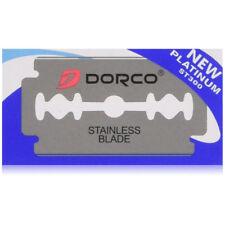 Dorco Platinum Stainless Double Edge Razor Blades 500 Count