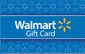 Walmart Gift Card Valued @ $5, $10, $15, $25, $30, $50, $100 *You Choose