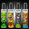 4 x Clipper Lighters RARE Gas Lighter Refillable Flint   Bad Teddies