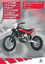 Husqvarna workshop service manual 2011 TE 511 & TXC 511