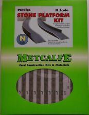 Metcalfe N Gauge Stone Platform Card Kit PN135
