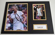 Steffi Graf SIGNED autograph 16x12 photo display Tennis AFTAL & COA
