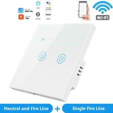 Smart Home WIFI Lichtschalter Touch Wandschalter Kein Neutralleiter erforderlich