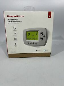 Honeywell Home Smart Thermostat Intelligent Alerts RTH6580WF Wi-Fi Open Box