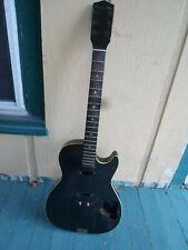 1963 Silvertone Stratotone Model 1420 Vintage Guitar, USA Harmony H46 Project
