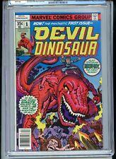 Devil Dinosaur #1 CGC 9.8 White Pages