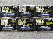 iForce MAX OUT Pre Workout Intense Crazy Energy Strength Focus Pump Power 6 Pack