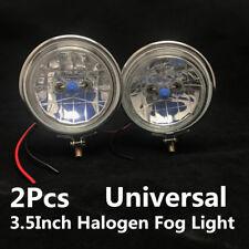 2Pcs 3.5Inch 100W Universal Halogen Car Motorcycle Headlight Fog Light Reverse