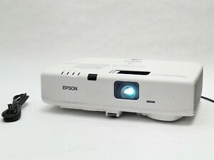 EPSON POWERLITE D6155W 3500 LUMENS 1280*800 3LCD WXGA PROJECTOR HDMI VGA S-VIDEO