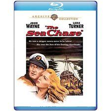 The Sea Chase 1955 (Blu-ray) John Wayne, Lana Turner, David Farrar - New!