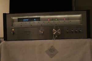 Pioneer TX-9800 Stereo Tuner, w/Laminated Wood Cab., Orig. Box, Mint
