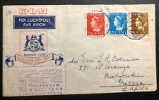 1946 Venlo Netherlands Airmail First Flight Cover To Pretoria South Africa KLM