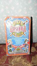 Baseball MLB Wax Boxes Upper Deck 1990 & 1992 Fleer 1989 Griffey