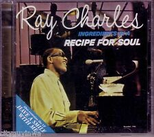 RAY CHARLES Ingredients in Recipe for Soul/Have a Smile with Me 2 On 1 Rhino CD