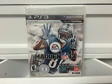 ** Madden NFL 13 PS3 PlayStation 3 - BRAND NEW & FACTORY SEALED - Free Shipping!